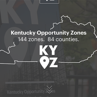 Kentucky Opportunity Zones picture with logo