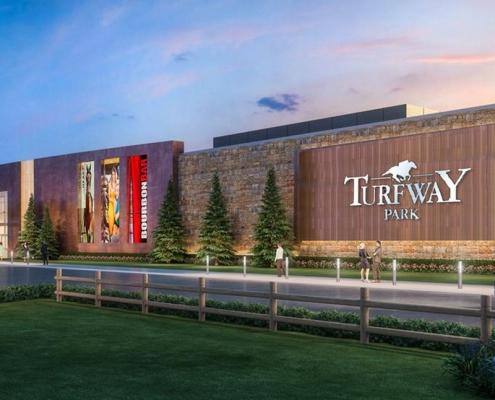 Rendering of Turfway Park Renovation