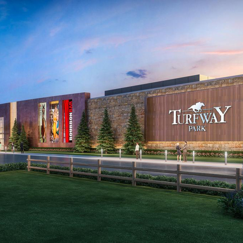 Rendering of Turfway Park Renovation