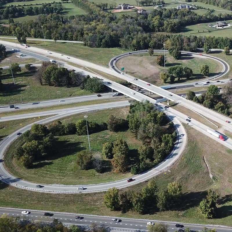 I-Move Kentucky Interchange Construction Project