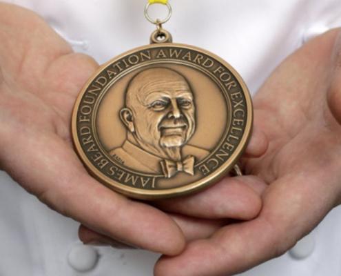 James Beard Award Medal