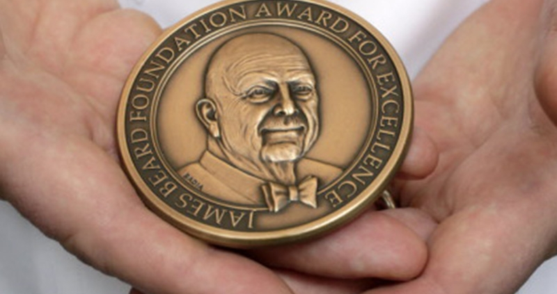 James Beard Award Medal