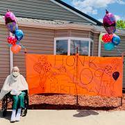 Ruth Harrington's 109th Birthday Parade
