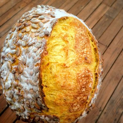 Leaven Bakery is connecting with at-home bakers to learn about sourdough bread making.